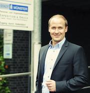 Münsters neuer Breitband-Koordinator Christian Tebel.