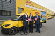 Im Rahmen des Projekts Urbane Logistik Hannover stellt die Deutsche Post die Paketauslieferung in Hannover auf Elektofahrzeuge um.