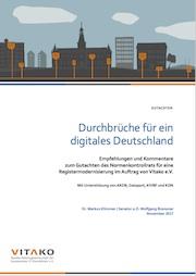 Maßnahmen, die der Digitalisierung in Deutschland zum Durchbruch verhelfen könnten, legt ein Vitako-Gutachten dar.