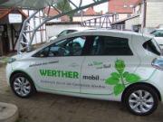 WertherMobil: E-Auto für Fahrdienste, Behördengänge oder Arztbesuche.