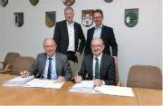 Konzessionsvertrag für Erdgas unterzeichnet: Bad Wünnenberg setzt auf die Zusammenarbeit mit dem kommunalen Netzbetreiber Westfalen Weser Netz.