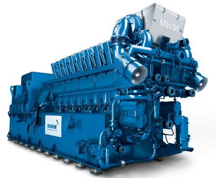 BHKW-Gasmotor MWM TCG 2032: AVAT hat eine Nachrüst-Steuerung entwickelt.