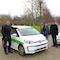 Kasseler Umwelt- und Gartenamt erhält Elektroautos.