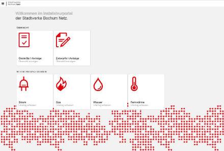 Stadtwerke Bochum: Installateurportal löst papierbasierte Verfahren ab.