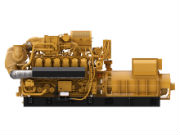 Das Gasaggregat Cat G3512H gehört zu den neuesten in der Gasmotorenserie von Zeppelin Power Systems.