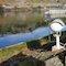 Im Feldversuch testet Ludwigsburg das Flood-Monitoring-System von Bosch für eine frühzeitige Warnung bei drohendem Hochwasser.