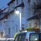 Der Lichtstrom der neuen LED-Außenleuchte FILOS Vario von Schuch kann individuell eingestellt werden.