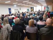 Bürger des Gemeindeverwaltungsverbands Meersburg informierten sich über den aktuellen Ausbaustand der Breitband-Versorgung.