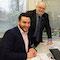 Der neue Breitband-Koordinator Rafael Markwald (l.) hat seinen Dienst bei der Stadt Krefeld angetreten.