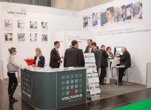 Auf dem Voltaris-Messestand auf der diesjährigen E-world informierten sich die Fachbesucher vor allem zu Mehrwertlösungen für den wettbewerblichen Messstellenbetrieb.