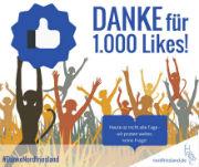 Kreis Nordfriesland bedankt sich bei seinen Facebook-Freunden.