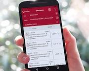 Der flexible Schorndorfer Bedarfsbus kann unter anderem mittels Smartphone-App bestellt werden.