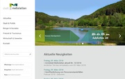 Meßstettens neue Website verfügt über Responsive Design und gewährt Zutritt zu unterschiedlichen Bürgerservices.