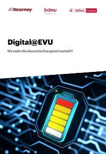 Digitalisierungsbarometer der Energiewirtschaft: Jedes dritte der untersuchten Unternehmen hat eine Digitalisierungsstrategie.