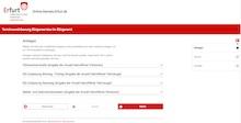 Termine für das Erfurter Bürgeramt können online vereinbart werden.