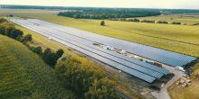 Der Solarpark Hassel ist die größte Anlage, die E.ON bisher in Deutschland errichtet hat.