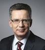 Thomas de Maizière hält Grundsatzrede zur Netzpolitik der Zukunft. (Foto: Bundes-presseamt)