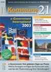 Kommune21 Ausgabe 8/2003