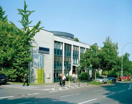 Firmenzentrale von Materna in Dortmund.