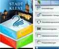 Die Stadt Kleve bietet mit ihrer Smartphone-App einen weiteren Web-2.0-Service an.