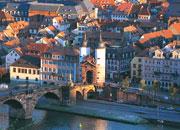 Neu bewertet wurde etwa die Alte Brücke in Heidelberg.