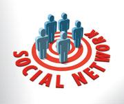 Bei sozialen Netzwerken stehen die Menschen im Mittelpunkt.