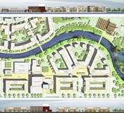 Plan des Kulturquartiers: Bocholt setzt auf Online-Bürgerbeteiligung.