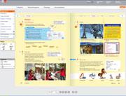 Digitaler Assistent: Interaktive Präsentation von Lerninhalten.