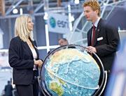 Die Welt im Blick: GIS-Messe Intergeo findet in Hannover statt.