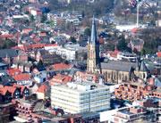 Im Emsdettener Rathaus wird mit einem einheitlichen DMS gearbeitet.