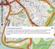 OpenStreetMap ermöglicht es Bürgern, Anliegen zu kartieren.