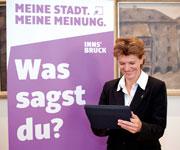 Innsbruck: Bürger-Panel soll Meinungsbild einfangen.