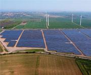 Solarpark in Helbra: Das kommunale Vorzeigeprojekt wurde auf einer Konversionsfläche errichtet.