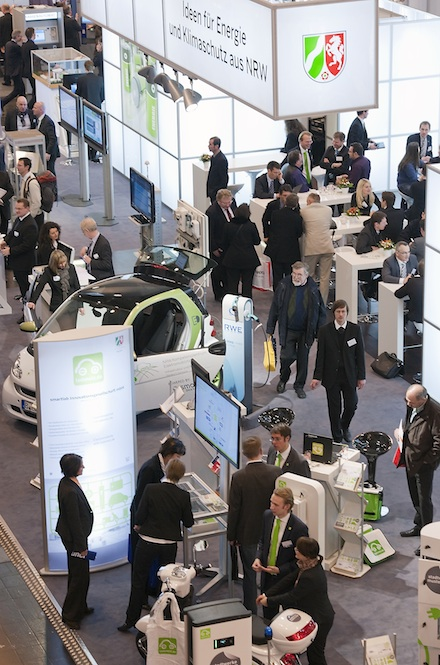 NRW-Gemeinschaftsstand: 20 Unternehmen zeigen ihre Produkte.