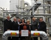 Offizielle Inbetriebnahme der Biomethan-Anlage in Klein Wanzleben.