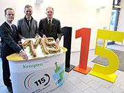 Die Einführung der 115 in Kempten und im Kreis Oberallgäu im Jahr 2012.