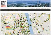 Bonn arbeitet online konstruktiv mit Bürgern zusammen.