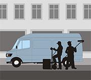 In Berlin können Handwerker ihren Parkausweis online beantragen.