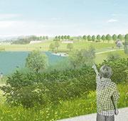 In Bayreuth ermöglicht es ein fachbereichsübergreifendes Geo-Informationssystem, das geplante Landesgartenschaugelände zu visualisieren.
