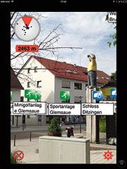 Augmented Reality: Zusatzinfos per App.