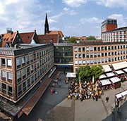 Bürgeramt Münster vergibt Termine online.