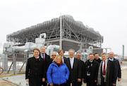 Die Stadtwerke München haben ein neues Geothermie-Heizwerk in Sauerlach in Betrieb genommen.