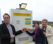 Das Entsorgungszentrum Kirschenplantage bei Hofgeismar erhält eine neue Funktion: Auf dem Gelände geht eine Photovoltaikanlage in Betrieb.