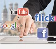 Social Media ist wichtig für die Außenkommunikation.