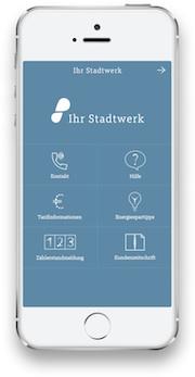 Mit der Smartphone-App stappy sollen Stadtwerke die Kundenbindung verbessern können.
