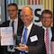Preisverleihung in Brüssel: Der Landkreis Osnabrück ist Sieger der Champions League für Erneuerbare Energien 2014.