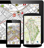 Für den mobilen Einsatz: die Geodaten-App Neu-Ulm.
