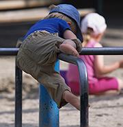 Kindergartenplätze können in München im Internet vorgemerkt werden.