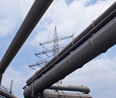 Das europäische Gasnetz ist laut einer Studie für eine Lieferunterbrechung aus der Ukraine gut gewappnet.