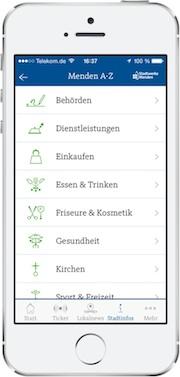 Die Smartphone-App stappy ist in einer erweiterten Version verfügbar.